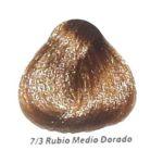 7-3 rubio medio dorado