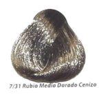 7-31 rubio medio dorado cenizo