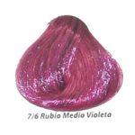 7-6 rubio medio violeta