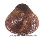 7-7 rubio medio marron