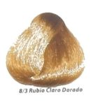 8-3 rubio claro dorado