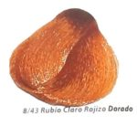8-43 rubio claro rojizo dorado